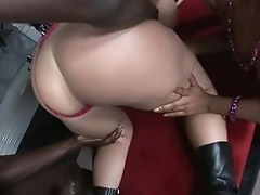 Blood Suckin' Booty Sluts - Bottom heavy and curvaceous bitches, Sara Jay and Ms. Juicy head out to a party..